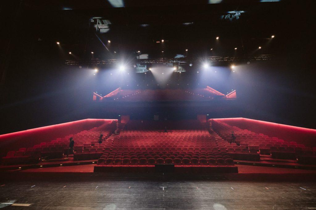 Stage view of auditorium