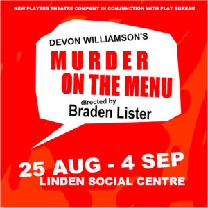 Murder on the menu - book now